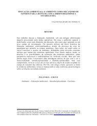 EDUCAÇÃO (AMBIENTAL): O AMBIENTE COMO ... - Ipcp.org.br