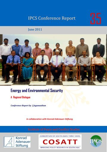 Energy and Environmental Security: A Regional Dialogue