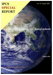 IPCS SPECIAL REPORT.pdf - Institute of Peace and Conflict Studies