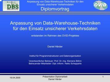 Vortrag - Diplomarbeit 04