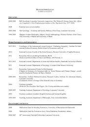 CV englisch Website - IPE Berlin