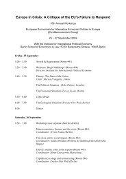 Programme - IPE Berlin