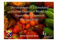 Marvin Jiwan's Presentation - Irish Phytochemical Food Network