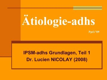 IPSM-adhs 1