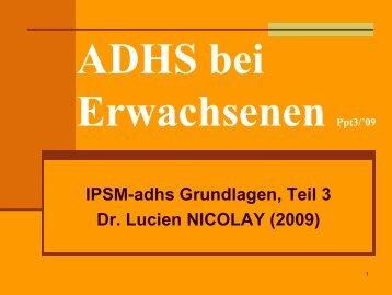 IPSM-adhs 3 - Treffpunkt ADHS asbl