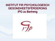 PSYCHAGOGIK bei ENTWICKLUNGS-STÖRUNGEN des SELBST