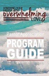 Pastor Appreciation Program Guide (pdf)