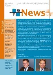 Inhoud - IPI Institut professionnel des agents immobiliers