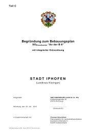 1825 Begründung zum BPL- Stand 22072013_Struchholz - Iphofen