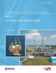 Part III: Flare Reduction Project Family - IPIECA