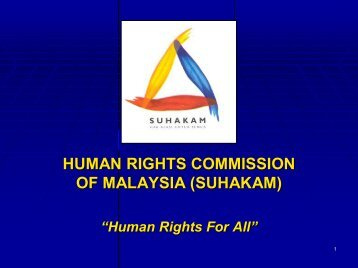 human rights commission of malaysia (suhakam) - IPIECA