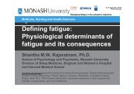 Defining fatigue: Physiological determinants of Physiological ... - ICMM