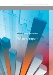 What to report - IPIECA