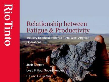 relationship between fitness and productivity