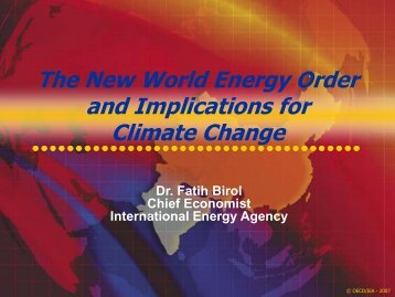 Greenhouse Gas Emissions Outlooks and Scenarios, Dolf ... - IPIECA