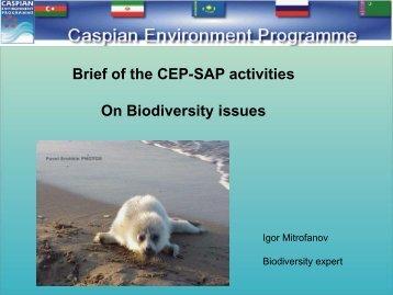 Regional biodiversity strategies and policies - IPIECA