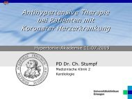 Antihypertensive Therapie