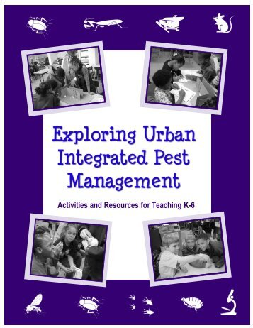 Activities and Resources for Teaching K-6 - School Integrated Pest ...