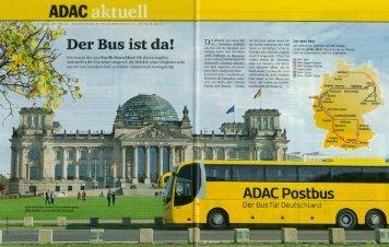 Bericht in der ADAC Motorwelt, Heft 11/2013, S. 98-104