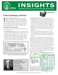 Cation Exchange: A Review - International Plant Nutrition Institute