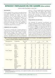 NUTRICION Y FERTILIZACION DEL PINO CARIBEÑO (Pinus ...