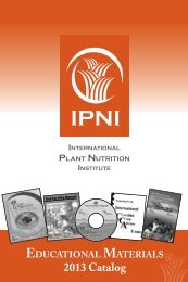 Download 2013 IPNI Catalog - International Plant Nutrition Institute