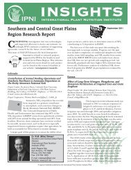 Southern and Central Great Plains Region Research Report