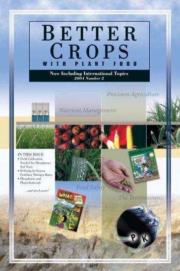 Better Crops 2004 #2 - International Plant Nutrition Institute