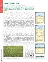 Testing Turfgrass Soils - International Plant Nutrition Institute