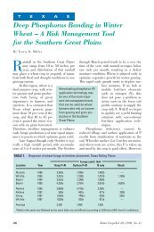 A Risk Management Tool for the Southern Great Plains