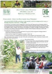 SEAP Newsletter 2005-05 - International Plant Nutrition Institute