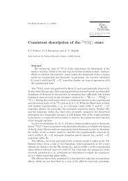 Consistent Description of the State - ResearchGate