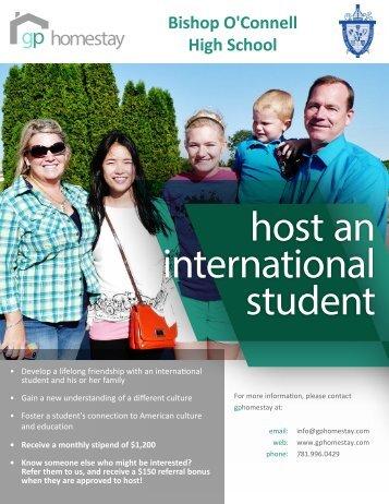 host an international student