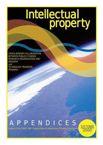 Crest report annexes - UK Intellectual Property Office