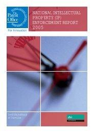 enforcement report 2005 - UK Intellectual Property Office
