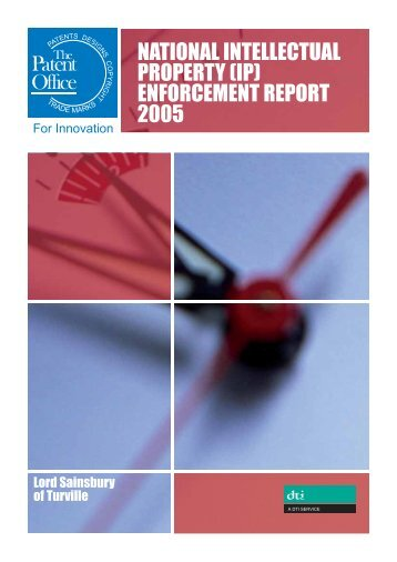 enforcement report 2005 - UK Intellectual Property Office