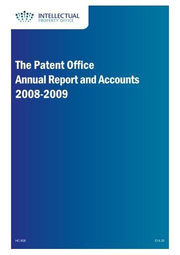 2009 (282Kb) - UK Intellectual Property Office