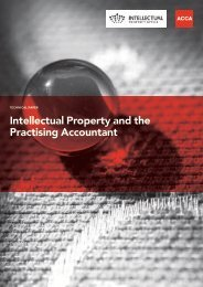 Intellectual Property and the Practising Accountant (pdf 650Kb)