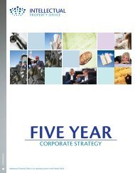 Five Year Corporate Strategy - UK Intellectual Property Office