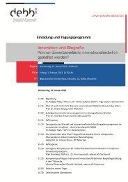 debbi Tagung 2013 Einladung-final - IPP München