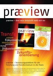 Waschzettel Praeview