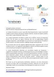 After-Work-Gesprächsreihe 'In guter Gesellschaft - IPP München