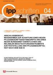 IPP-Schriften 04 - IPP - Universität Bremen