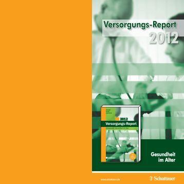 Versorgungs-Report - IPP - Universität Bremen