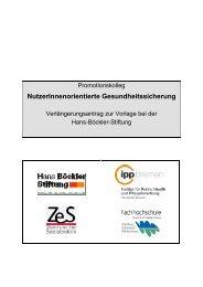 Antrag 2 - IPP - Universität Bremen