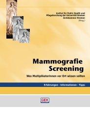 GEK - Mammografie Screening - IPP - Universität Bremen