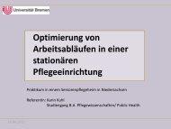 Karin Kuhl Studiengang B.A. Pflegewissenschaften 5 ... - IPP