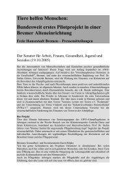 Pressemitteilung der Freien Hansestadt Bremen (pdf)