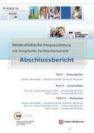 Abschlussbericht (PDF, 1,41MB) - IPP - Universität Bremen