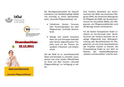 Flyer (PDF, 235KB) - IPP - Universität Bremen